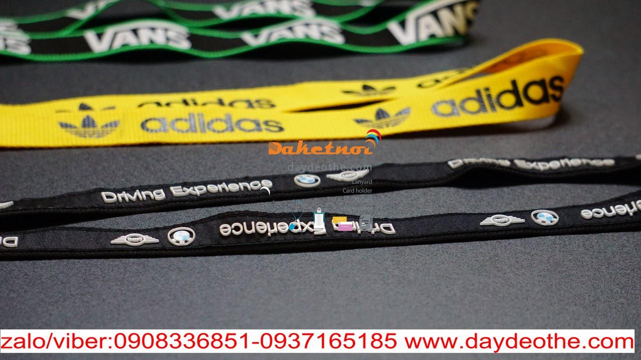 sản xuất dây đeo thẻ ,dây đeo móc khóa , vòng đeo tay