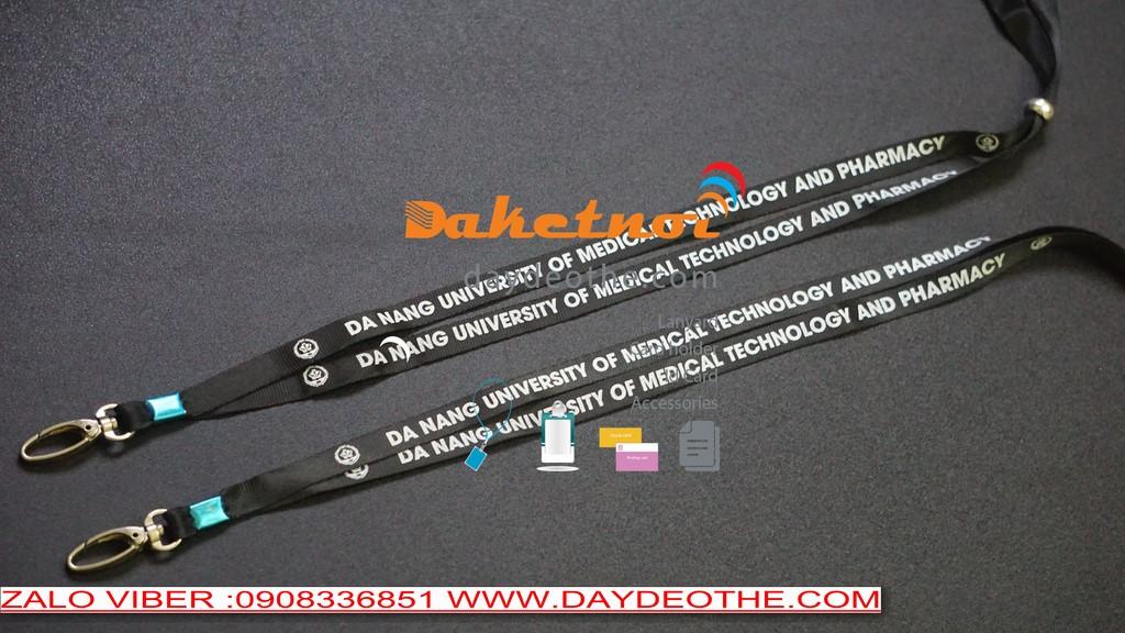 dây đeo thẻ sinh viên học sinh Đại học cao đẳng học viện trường dạy nghề