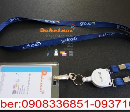 Dây đeo thẻ nhân viên cao cấp nguyên bộ -Hàn quốc