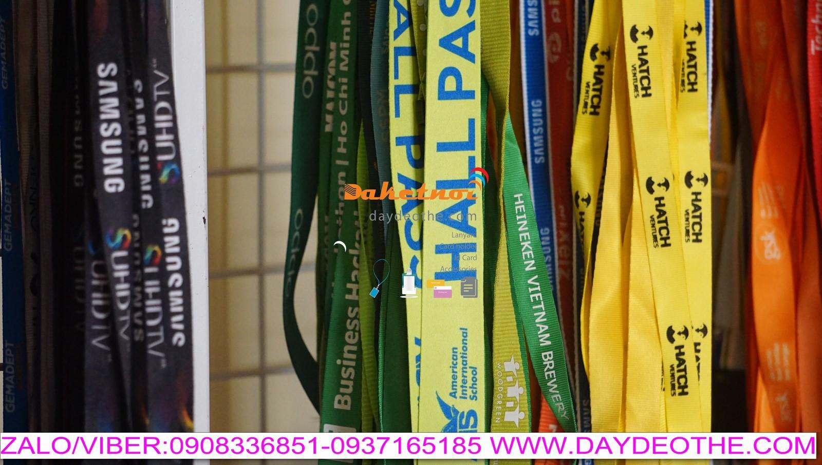 dây đeo thẻ học sinh sinh viên trường quốc tế AIS