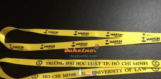dây đeo thẻ sinh viên đại học