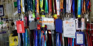 mẫu thẻ đeo ban tổ chức sản xuất dây đeo thẻ satanh không hạn chế màu 2cm 1.5cm 1.2cm 2.5cm