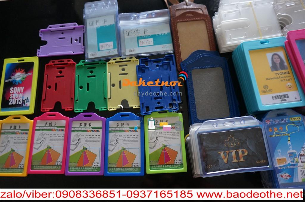 Bao đeo thẻ -bao đựng thẻ bao chứa nhân viên văn phòng sự kiện hội nghị