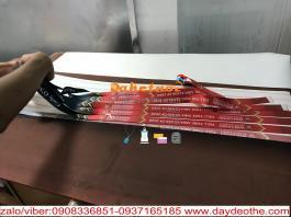 sản xuất dây đeo thẻ sinh viên đại học quốc tế Chất liệu satanh 1.2cm 1.5cm 2cm 2.5cm in nhiệt không hạn chế màu sắc.