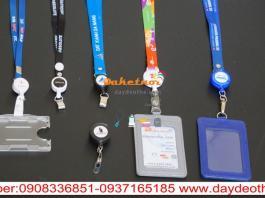 dây đeo thẻ co rút thông minh nguyên bộ -yoyo co rút in logo