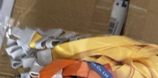 dây đeo thẻ trơn móc nhựa 1.5cm